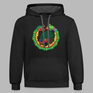 Quetzalcoatl Long Sleeve - Contrast Hoodie