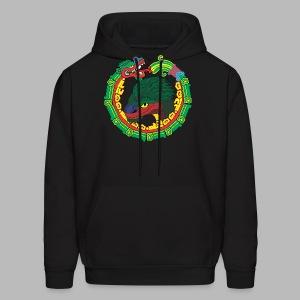Quetzalcoatl Long Sleeve - Men's Hoodie