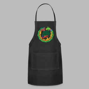 Quetzalcoatl Long Sleeve - Adjustable Apron