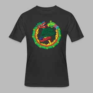 Quetzalcoatl Long Sleeve - Men's 50/50 T-Shirt