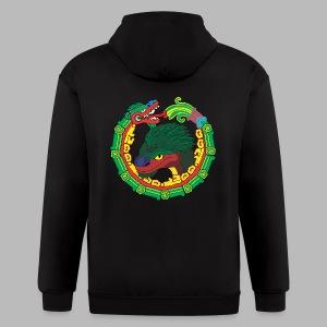 Quetzalcoatl Long Sleeve - Men's Zip Hoodie
