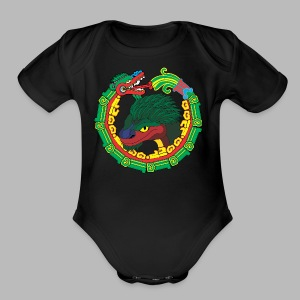 Quetzalcoatl Long Sleeve - Short Sleeve Baby Bodysuit