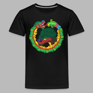 Quetzalcoatl Long Sleeve - Kids' Premium T-Shirt