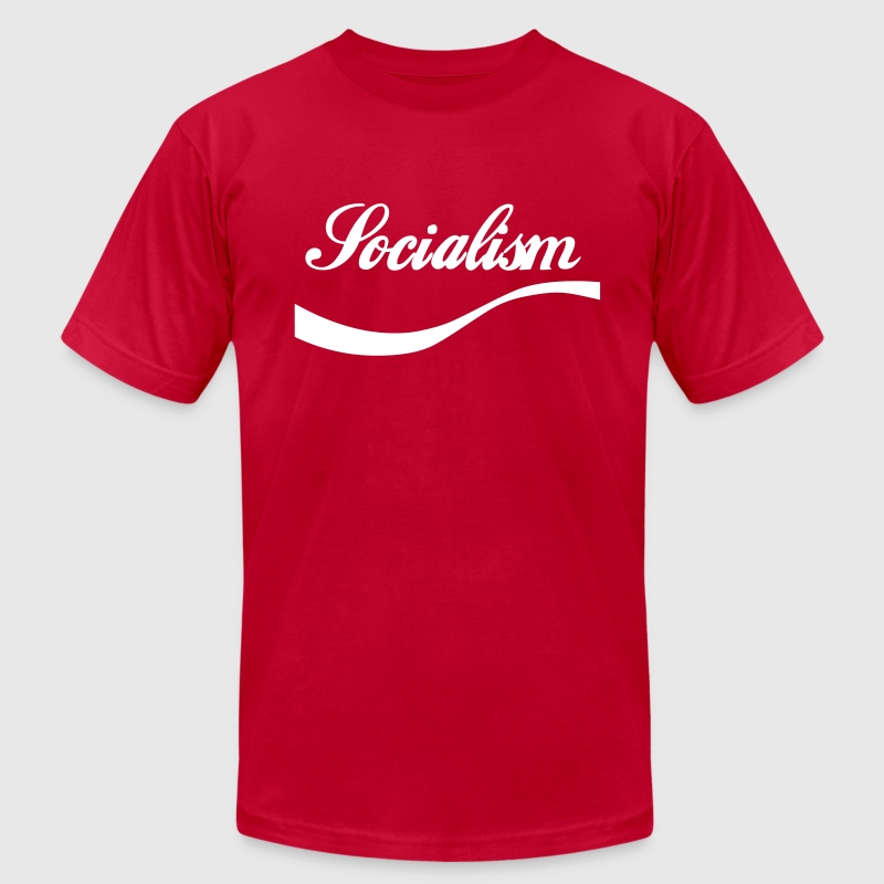 Enjoy Socialism T-Shirts - Men's T-Shirt by American Apparel
