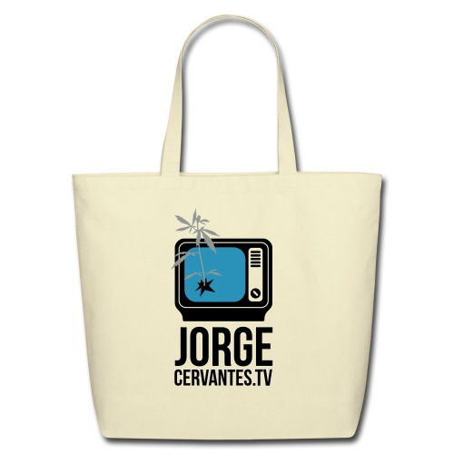 Jorge Cervantes TV Eco-Friendly Handbag - Eco-Friendly Cotton Tote