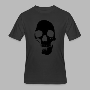 Skull Glow-in-the-Dark - Men's 50/50 T-Shirt
