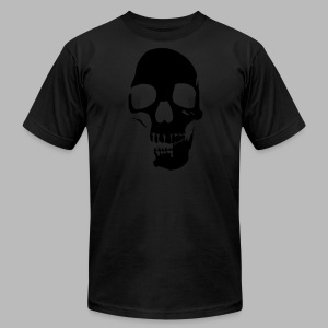 Skull Glow-in-the-Dark - Men's Fine Jersey T-Shirt