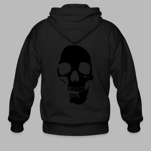 Skull Glow-in-the-Dark - Men's Zip Hoodie