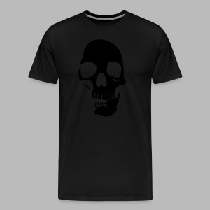 Skull Glow-in-the-Dark - Men's Premium T-Shirt