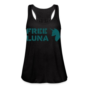FREE LUNA - Women's Flowy Tank Top by Bella