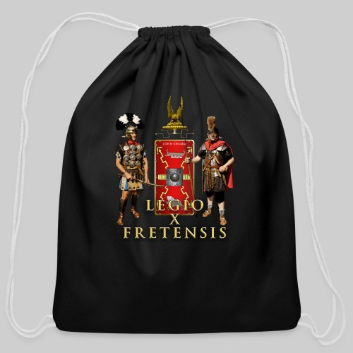 Legio X Fretensis Buttons - Small - Cotton Drawstring Bag