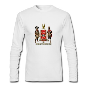 Legio X Fretensis Buttons - Small - Men's Long Sleeve T-Shirt by Next Level