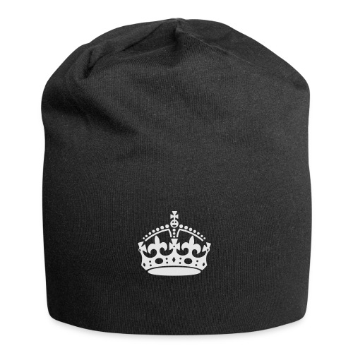 Keep Calm and Carry On Crown - Jersey Beanie