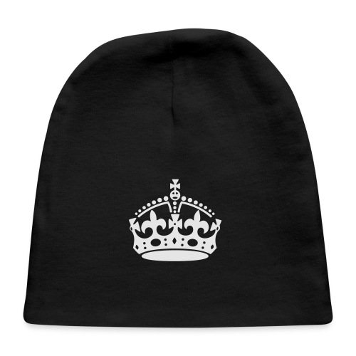 Keep Calm and Carry On Crown - Baby Cap
