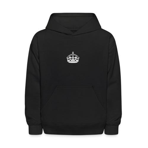 Keep Calm and Carry On Crown - Kids' Hoodie
