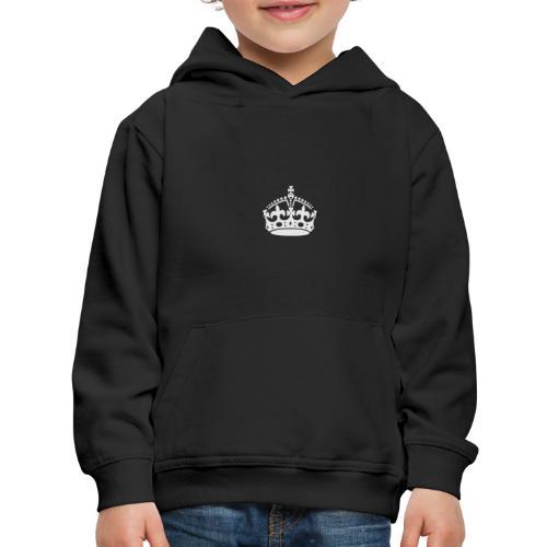 Keep Calm and Carry On Crown - Kids' Premium Hoodie