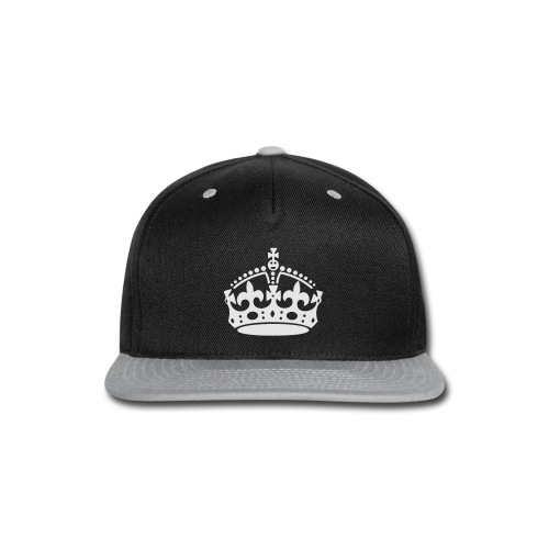 Keep Calm and Carry On Crown - Snap-back Baseball Cap