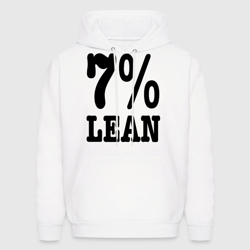 7% Lean -- Fat Large big Hoodies - Men's Hoodie