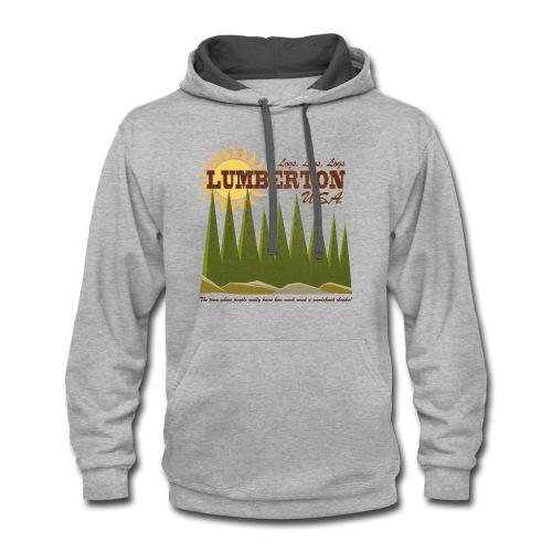 Lumberton, USA - Contrast Hoodie