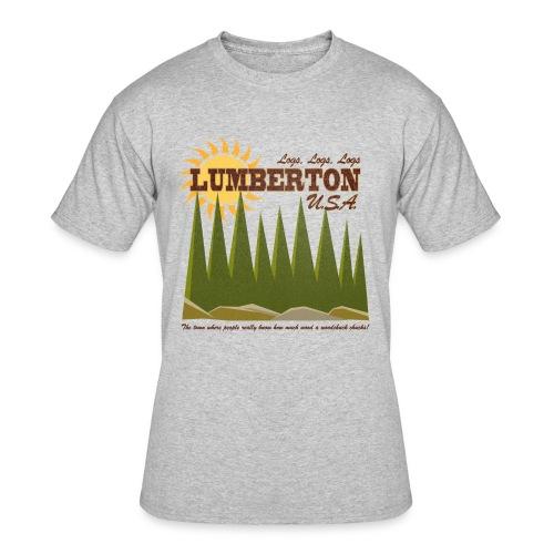 Lumberton, USA - Men's 50/50 T-Shirt