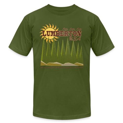 Lumberton, USA - Men's Fine Jersey T-Shirt