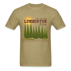 Lumberton, USA - Men's T-Shirt