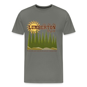 Lumberton, USA - Men's Premium T-Shirt
