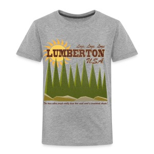 Lumberton, USA - Toddler Premium T-Shirt
