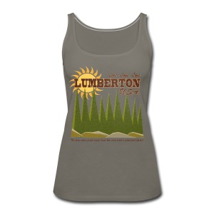 Lumberton, USA - Women's Premium Tank Top