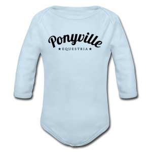 Ponyville - Long Sleeve Baby Bodysuit