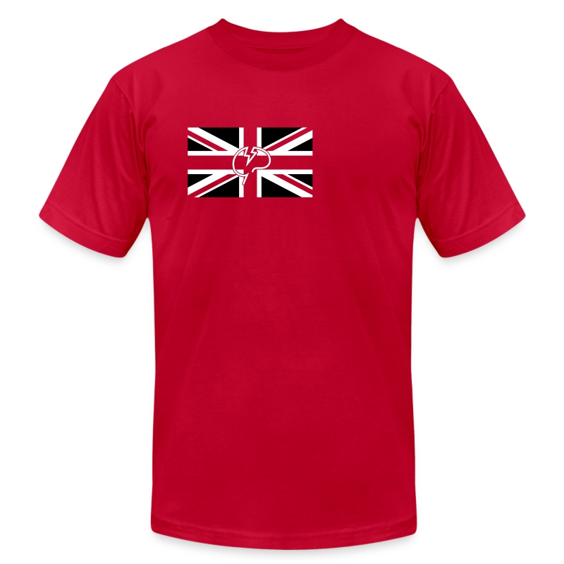 Men's flock Mindcrack Union Jack- American Apparel T-shirt - Men's T-Shirt by American Apparel