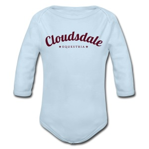 C-dale, yo! - Long Sleeve Baby Bodysuit