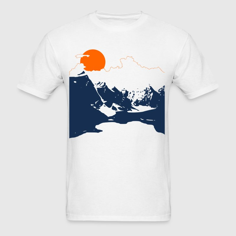 Vintage Mountains - Men's T-Shirt