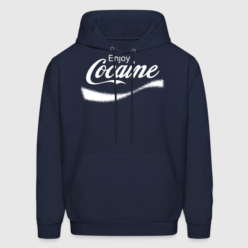 Enjoy Cocaine Hoodies - Men's Hoodie