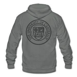 UC (AA) - Unisex Fleece Zip Hoodie by American Apparel