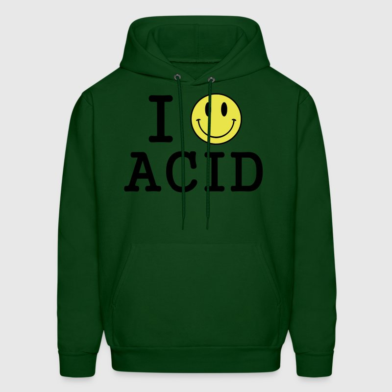I love Acid / LSD / Drugs Hoodies - Men's Hoodie