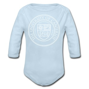 UC white - Long Sleeve Baby Bodysuit