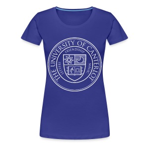 UC white - Women's Premium T-Shirt