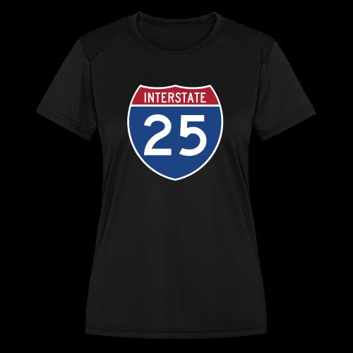 Interstate 25 - Mens - Women's Moisture Wicking Performance T-Shirt