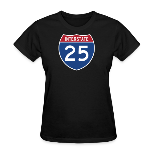 Interstate 25 - Mens - Women's T-Shirt