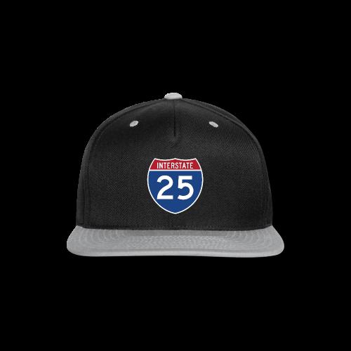 Interstate 25 - Mens - Snap-back Baseball Cap