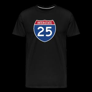 Interstate 25 - Mens - Men's Premium T-Shirt