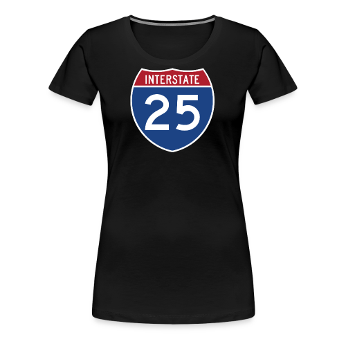 Interstate 25 - Mens - Women's Premium T-Shirt