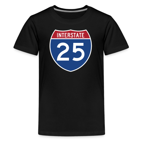 Interstate 25 - Mens - Kids' Premium T-Shirt