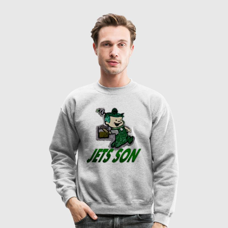 jets son Long Sleeve Shirts - Crewneck Sweatshirt