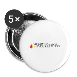 Reeve Foundation One-Inch Buttons (5 Pack) - Large Buttons