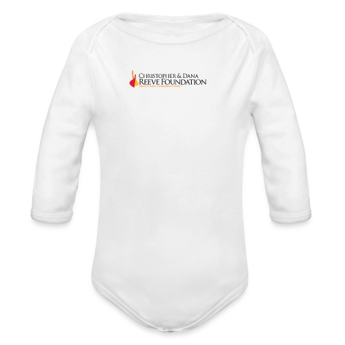 Reeve Foundation One-Inch Buttons (5 Pack) - Organic Long Sleeve Baby Bodysuit