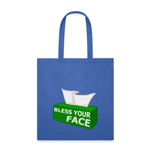 BLESS YOUR FACE - Tote Bag