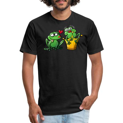 Princess is a Frog Now - Fitted Cotton/Poly T-Shirt by Next Level