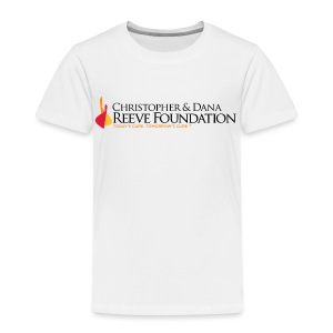 Reeve Foundation Kid's Long Sleeve Tee - Toddler Premium T-Shirt